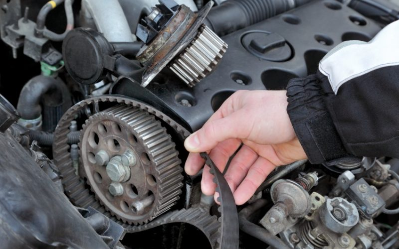 When can a car go for drive belt replacement?